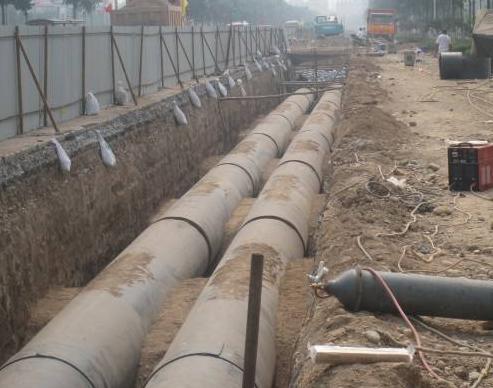 河北热力管道施工